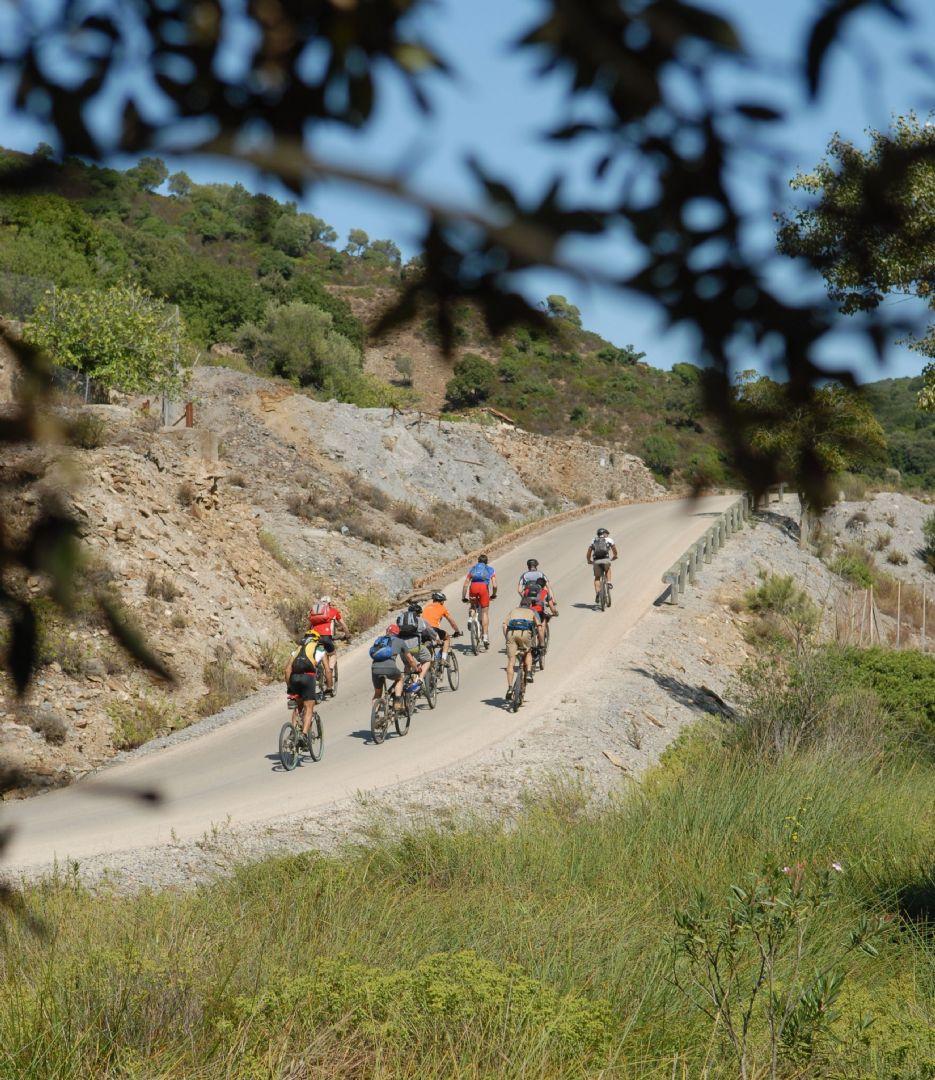 Skedaddle Sardinia Coast to Coast 14.JPG - Sardinia - Coast to Coast - Guided Mountain Bike Holiday - Italia Mountain Biking