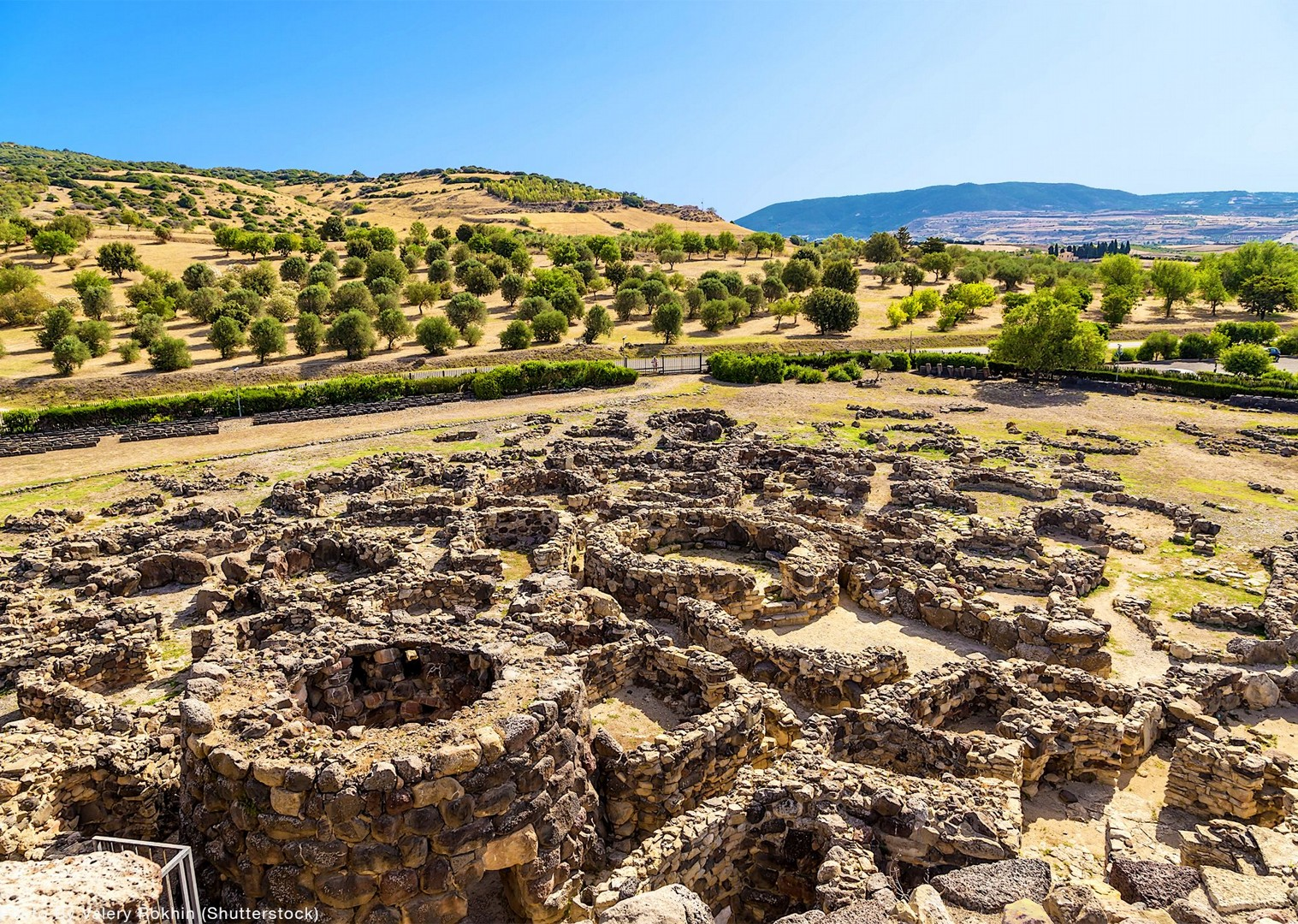 nuraghe-of-barumini-sardinia-bike-tour-italy.jpg - Italy - Sardinia - Coast to Coast - Self-Guided Mountain Bike Holiday - Italia Mountain Biking
