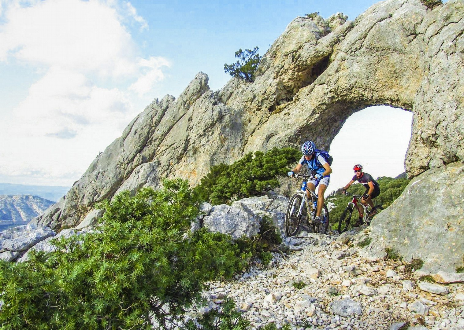 mountain-biking-in-sardinia-italy-saddle-skeaddle-self-guided.jpg - Italy - Sardinia - Coast to Coast - Self-Guided Mountain Bike Holiday - Italia Mountain Biking