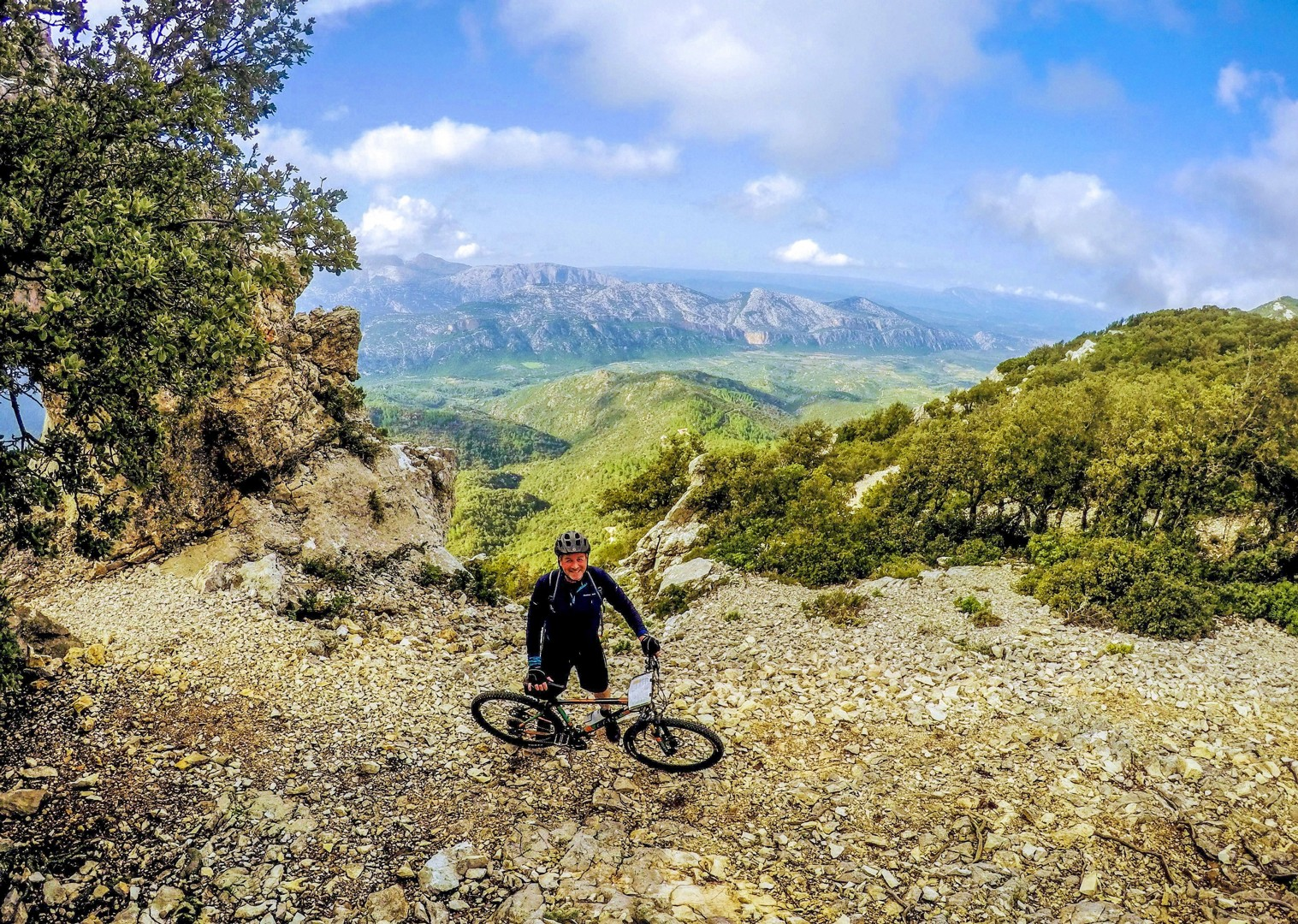 stunning-mountain-gennargentu-range-biking-sardinia.jpg - Italy - Sardinia - Coast to Coast - Self-Guided Mountain Bike Holiday - Italia Mountain Biking