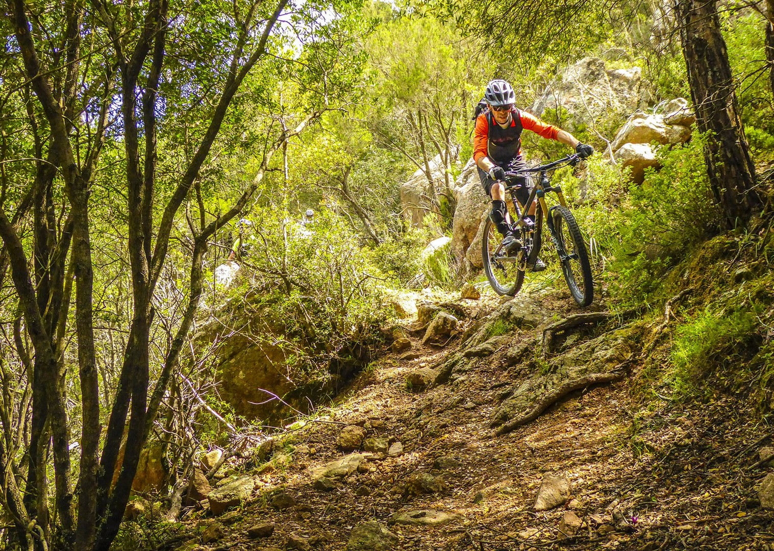 dirt-track-technical-mountain-biking-tour-sardinia-italy-self-guided - Italy - Sardinia - Coast to Coast - Self-Guided Mountain Bike Holiday - Italia Mountain Biking