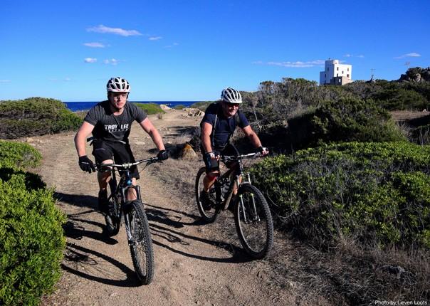 singletrack-below-perde-liana-pinnacle-mountain-biking-holiday-in-sardinia-traverse.jpg - Sardinia - Sardinia Traverse - Guided Mountain Bike Holiday - Italia Mountain Biking