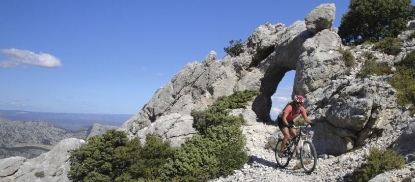 This fantastic mountain bike holiday in Italy goes from north to south Sardinia. This is the ultimate place to place Sardinian mountain bike trip and is a dramatic ride through true wilderness. High rugged mountains, open plateaux, dense woods, waterfalls and streams all provide the scenery for what is a challenging yet rewardin...