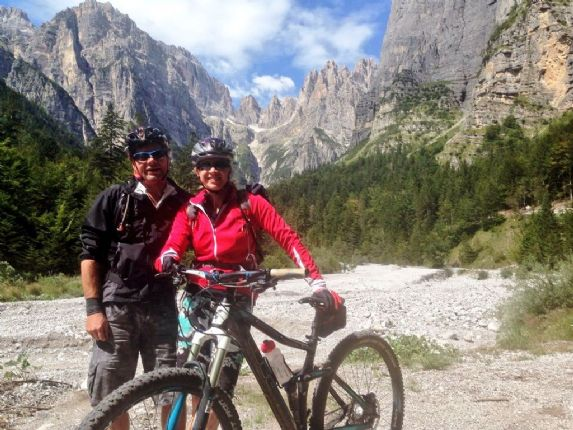 _Customer_85103_18471.jpg - Italy - Dolomites to Garda - Guided Mountain Bike Holiday - Italia Mountain Biking