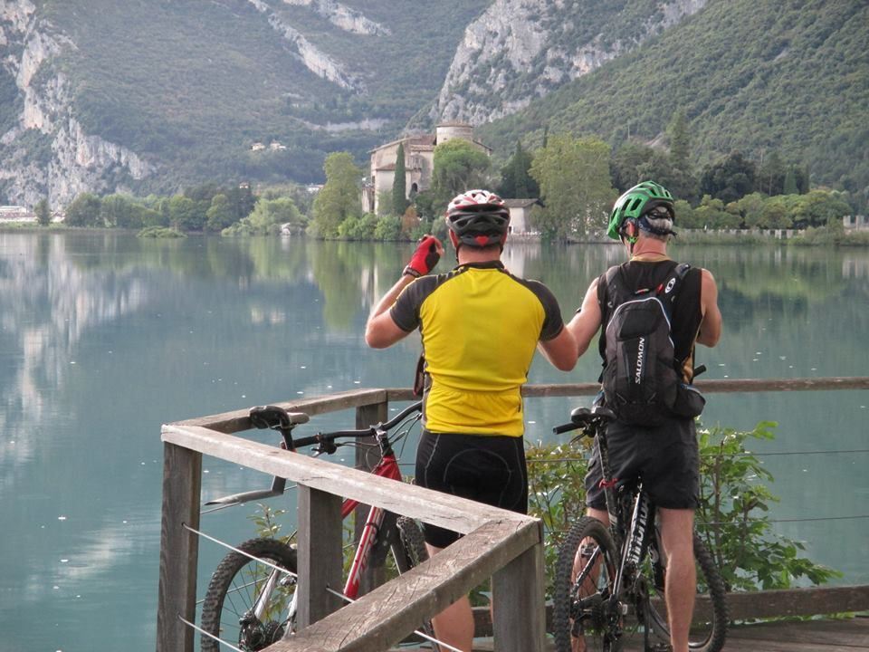 602825_10201901917218204_2130254613_n.jpg - Italy - Dolomites to Garda - Guided Mountain Bike Holiday - Italia Mountain Biking