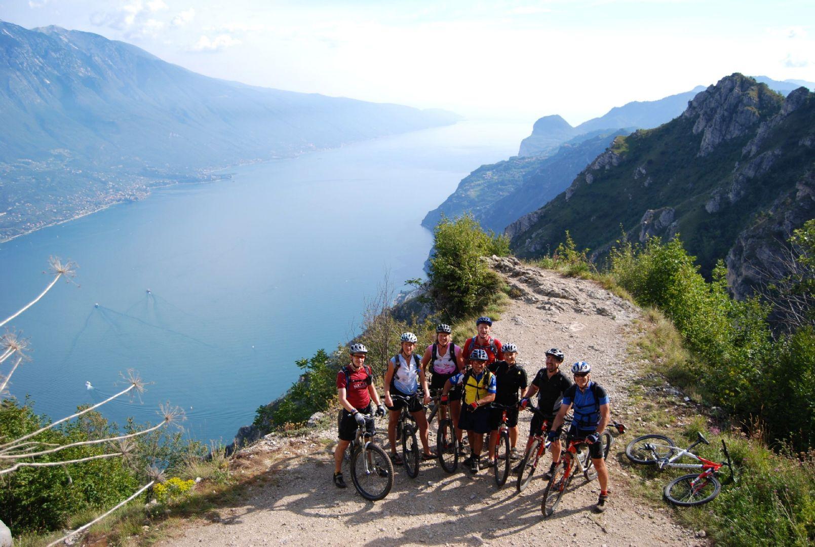 Italy - Dolomites to Garda - Guided Mountain Bike Holiday - Italia Mountain Biking