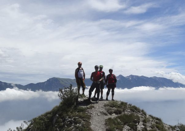 _Customer.58397.17910.jpg - Italy - Dolomites to Garda - Guided Mountain Bike Holiday - Italia Mountain Biking