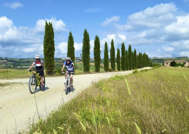 Italy - Tuscany - Sacred Routes - Mountain Bike Holiday Image
