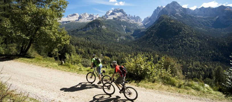 A fantastic cross country mountain biking adventure through Italy's famous Brenta Dolomites. This incredibly rewarding place to place adventure allows us to explore deep into the heart of the mighty Dolomites, on a range of trails that suit all levels of riders.