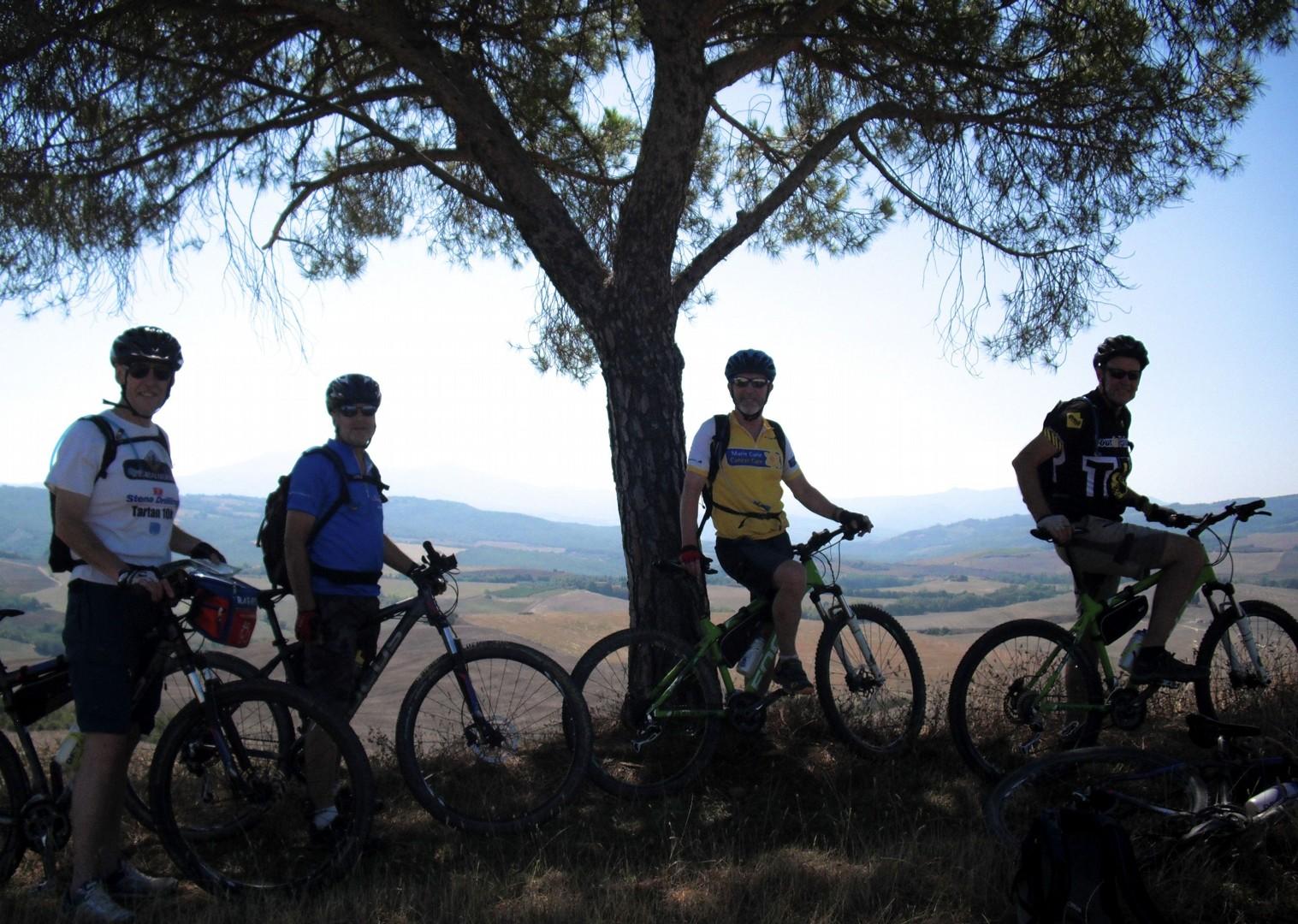 mountain-biking-holiday-tuscany-nature.jpg - Italy - Tuscany - Sacred Routes  - Self Guided Mountain Bike Holiday - Italia Mountain Biking
