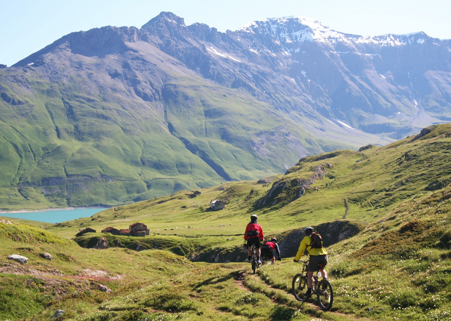 alps-mountain-bike-holiday-in-the-alps-alpine-adventure.JPG - Italy and France - Alpine Adventure - Guided Mountain Bike Holiday - Italia Mountain Biking