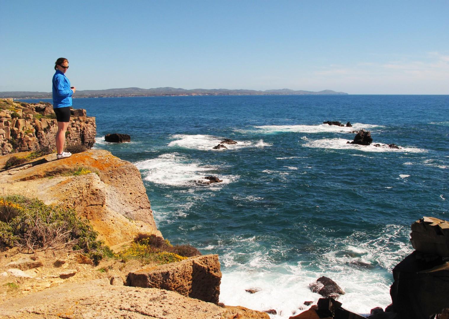 sea-cliffs-islands-sardinia.jpg - Italy - Sardinia - Island Flavours - Self-Guided Leisure Cycling Holiday - Italia Leisure and Family Cycling