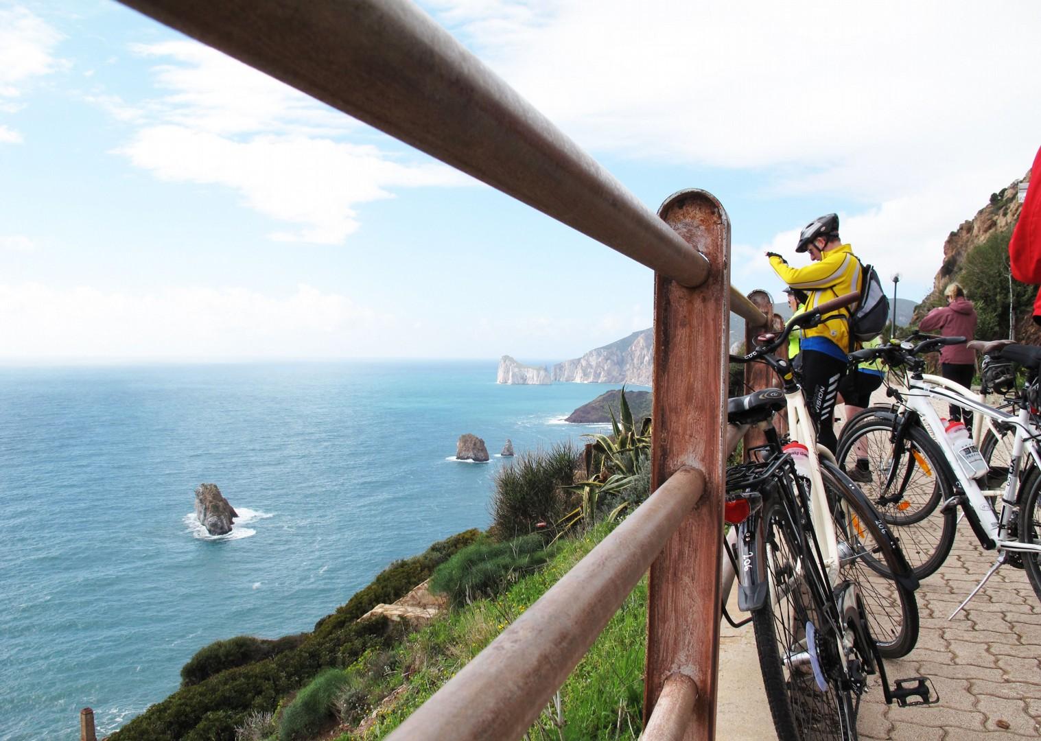 island-cycling-holiday-italy-sardinia-coast.jpg - Italy - Sardinia - Island Flavours - Self-Guided Leisure Cycling Holiday - Italia Leisure and Family Cycling