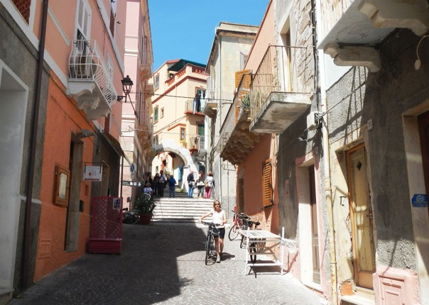 calaforte-san-pietro-town-sardinia.jpg - Italy - Sardinia - Island Flavours - Self-Guided Leisure Cycling Holiday - Italia Leisure and Family Cycling