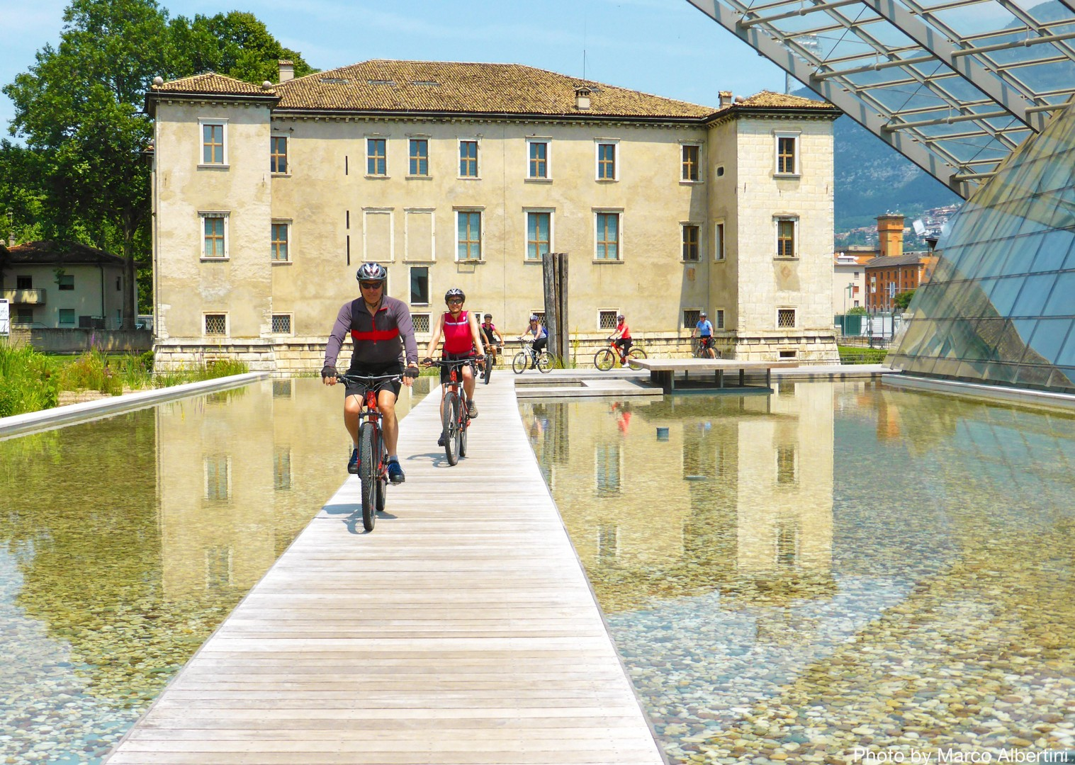 cultural-leisurely-guided-cycling-adventure-italy.jpg - Austria and Italy - La Via Claudia - Guided Leisure Cycling Holiday - Italia Leisure and Family Cycling