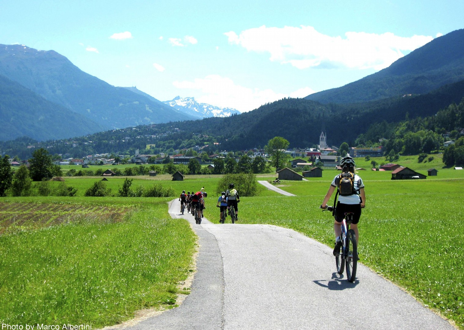 idylic-scenery-self-guided-cycling-adventure.jpg - Austria and Italy - La Via Claudia - Guided Leisure Cycling Holiday - Italia Leisure and Family Cycling