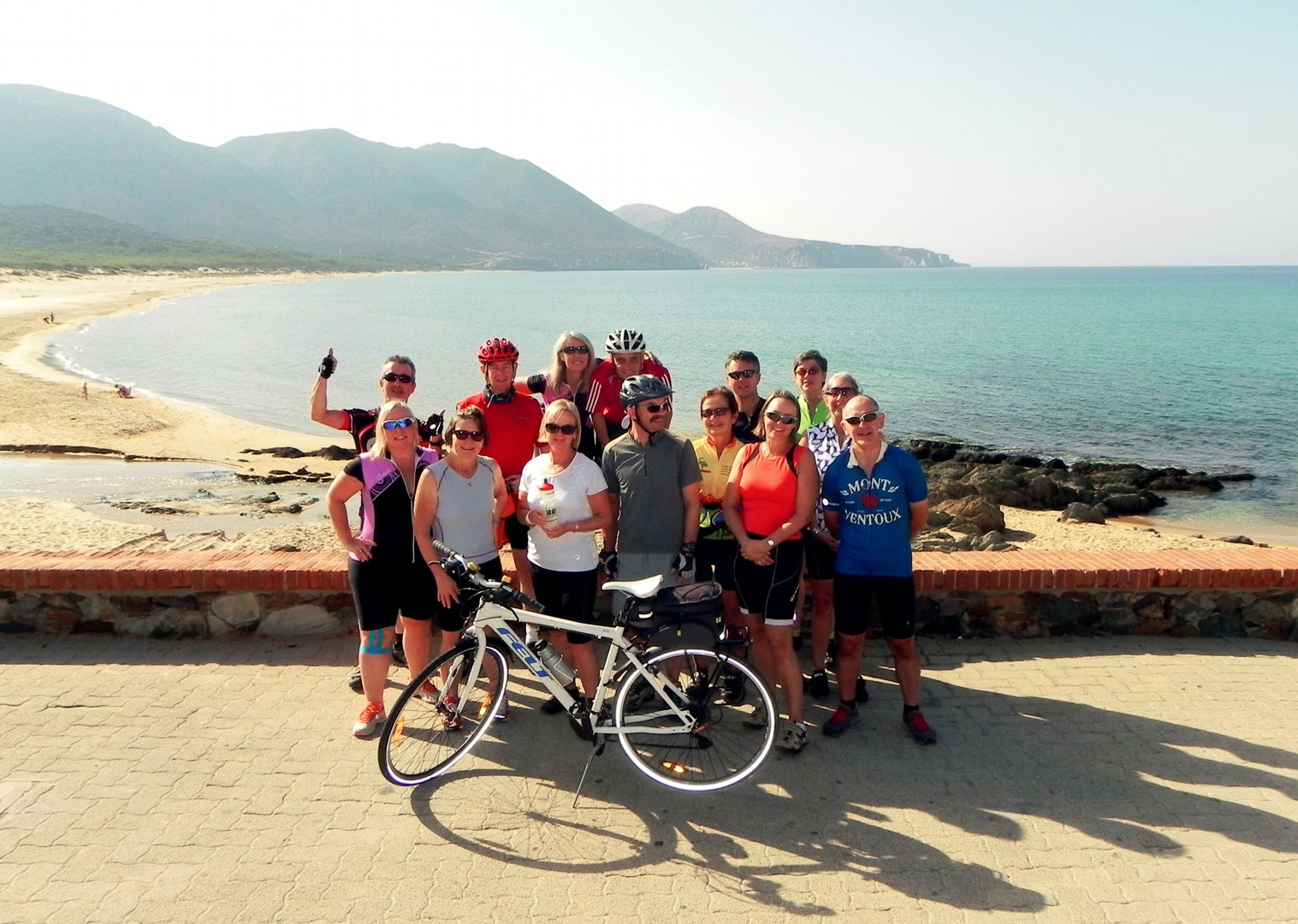 group-guided-cycling-tour-sardinian-islands.jpg - Italy - Sardinia - Island Flavours - Guided Leisure Cycling Holiday - Italia Leisure and Family Cycling