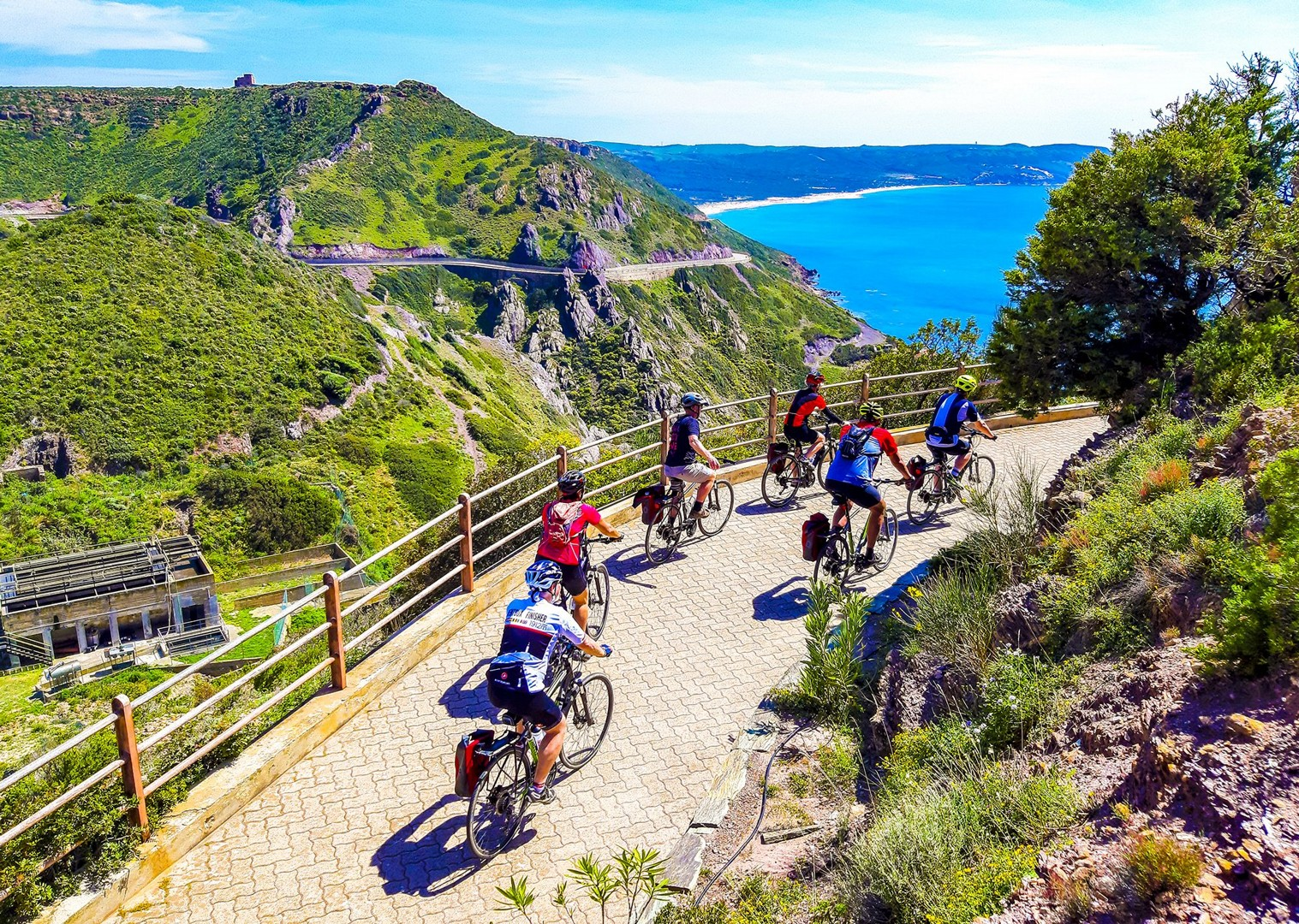 leisure-cycling-holiday-island-flavours-sardinia.jpg - Italy - Sardinia - Island Flavours - Guided Leisure Cycling Holiday - Italia Leisure and Family Cycling