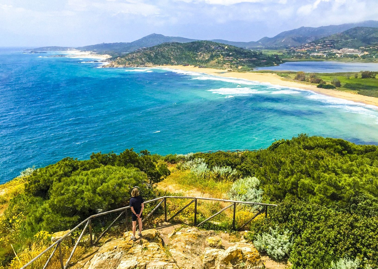 From Chia Towerjpg-2.jpg - Italy - Sardinia - Island Flavours - Italia Leisure and Family Cycling