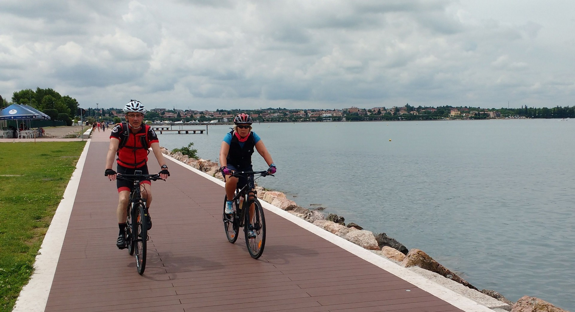Garda.jpg - Italy - Lake Garda to Venice - Guided Leisure Cycling Holiday - Italia Leisure and Family Cycling