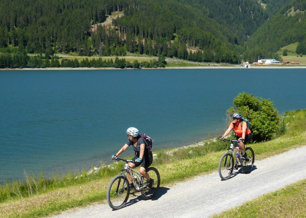 lake-garda-italy-supported-family-cycling-holiday.jpg - Northern Italy - Gentle Via Claudia - Supported Family Cycling Holiday - Italia Leisure and Family Cycling