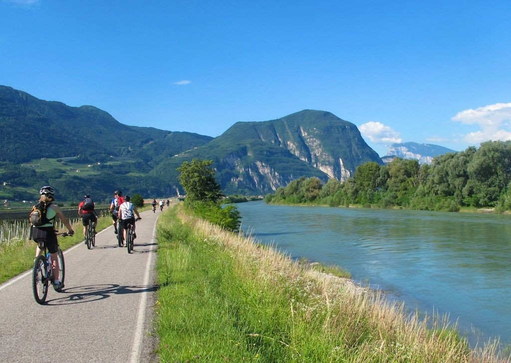 mountains-italy-cycling-supported-family-holiday.jpg - Northern Italy - Gentle Via Claudia - Supported Family Cycling Holiday - Italia Leisure and Family Cycling