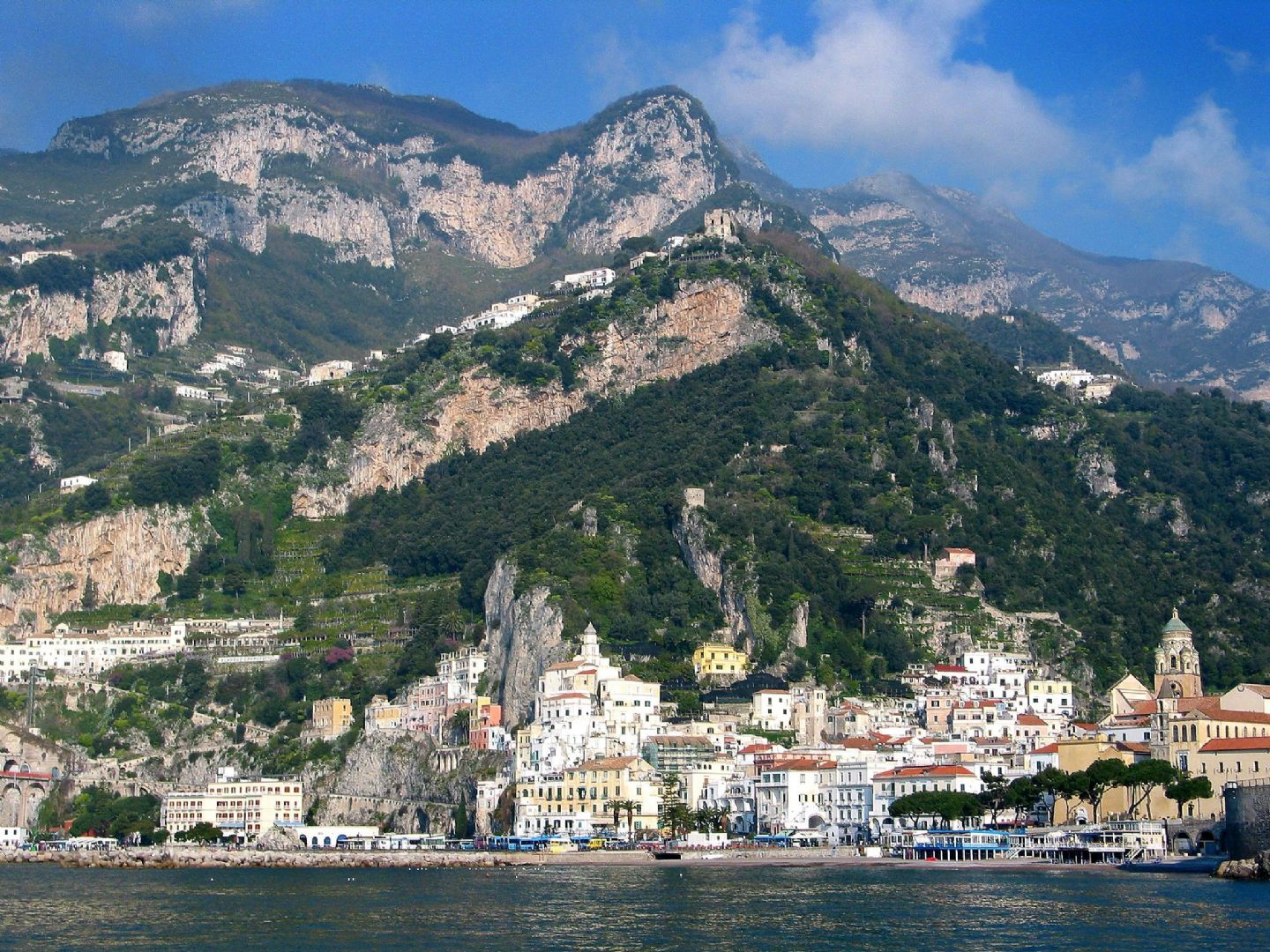 Amalfi05.jpg - Italy - Cilento and The Amalfi Coast - Guided Leisure Cycling Holiday - Italia Leisure and Family Cycling