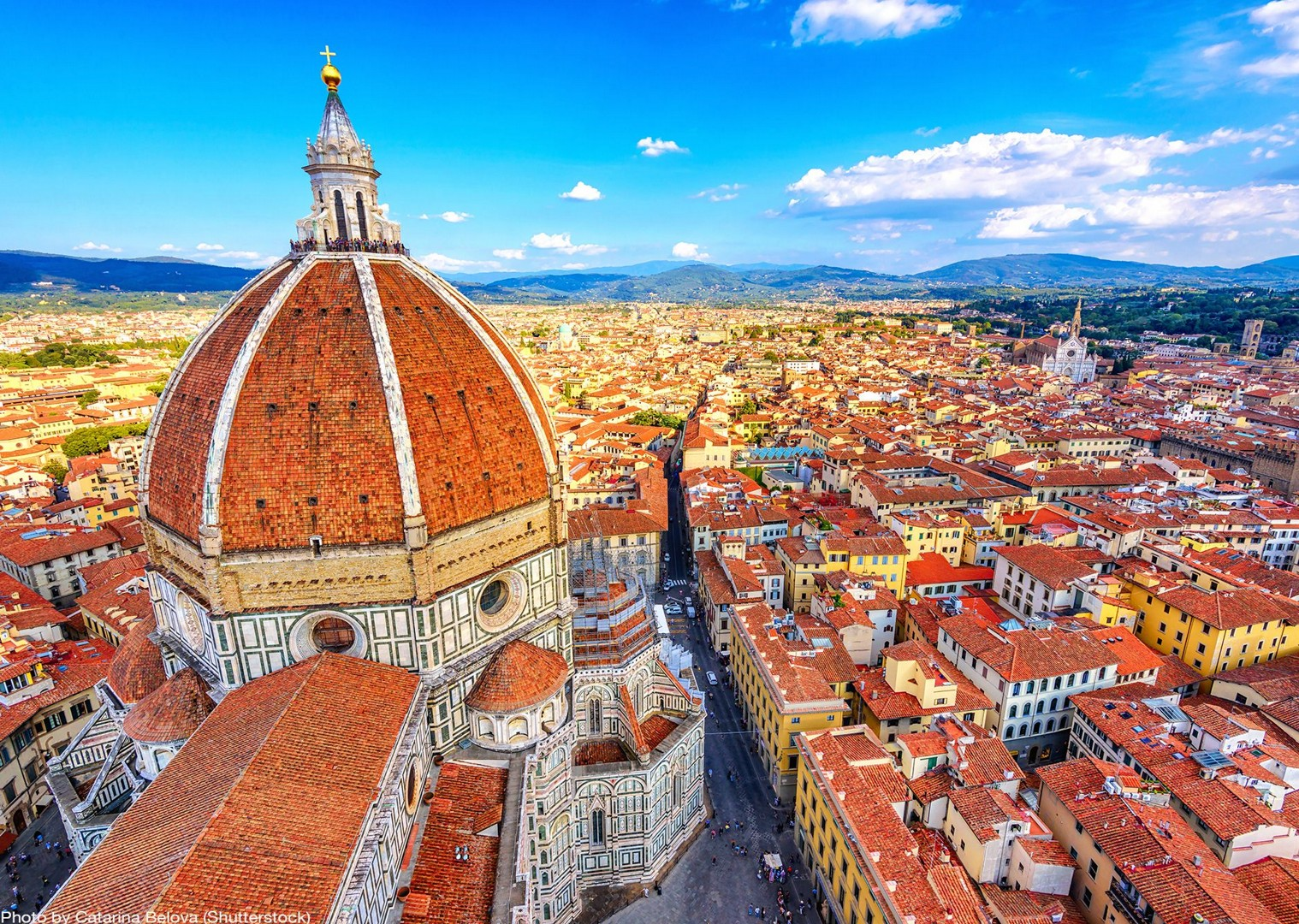 cathedral-de-santa-maria-del-fiore-florence-leisure-bike-tour.jpg - Italy - Tuscany - Pisa to Florence - Self-Guided Leisure Cycling Holiday - Italia Leisure and Family Cycling