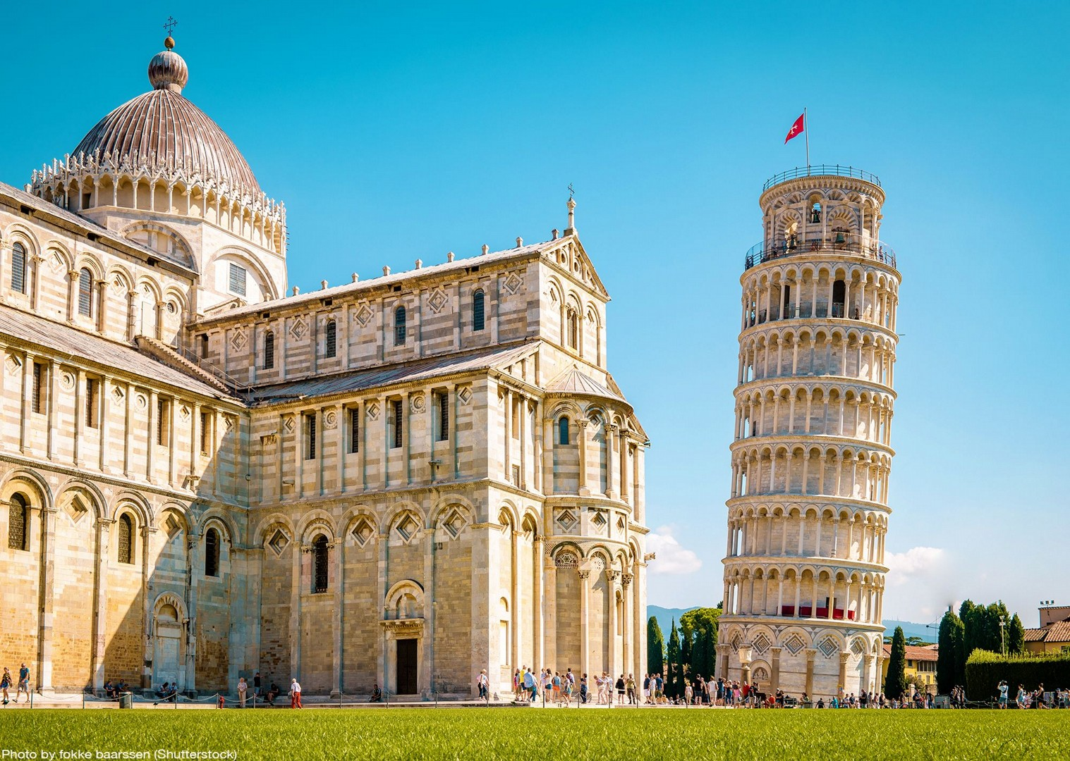 leaning-tower-of-pisa-cycling-tours-italy.jpg - Italy - Tuscany - Pisa to Florence - Self-Guided Leisure Cycling Holiday - Italia Leisure and Family Cycling