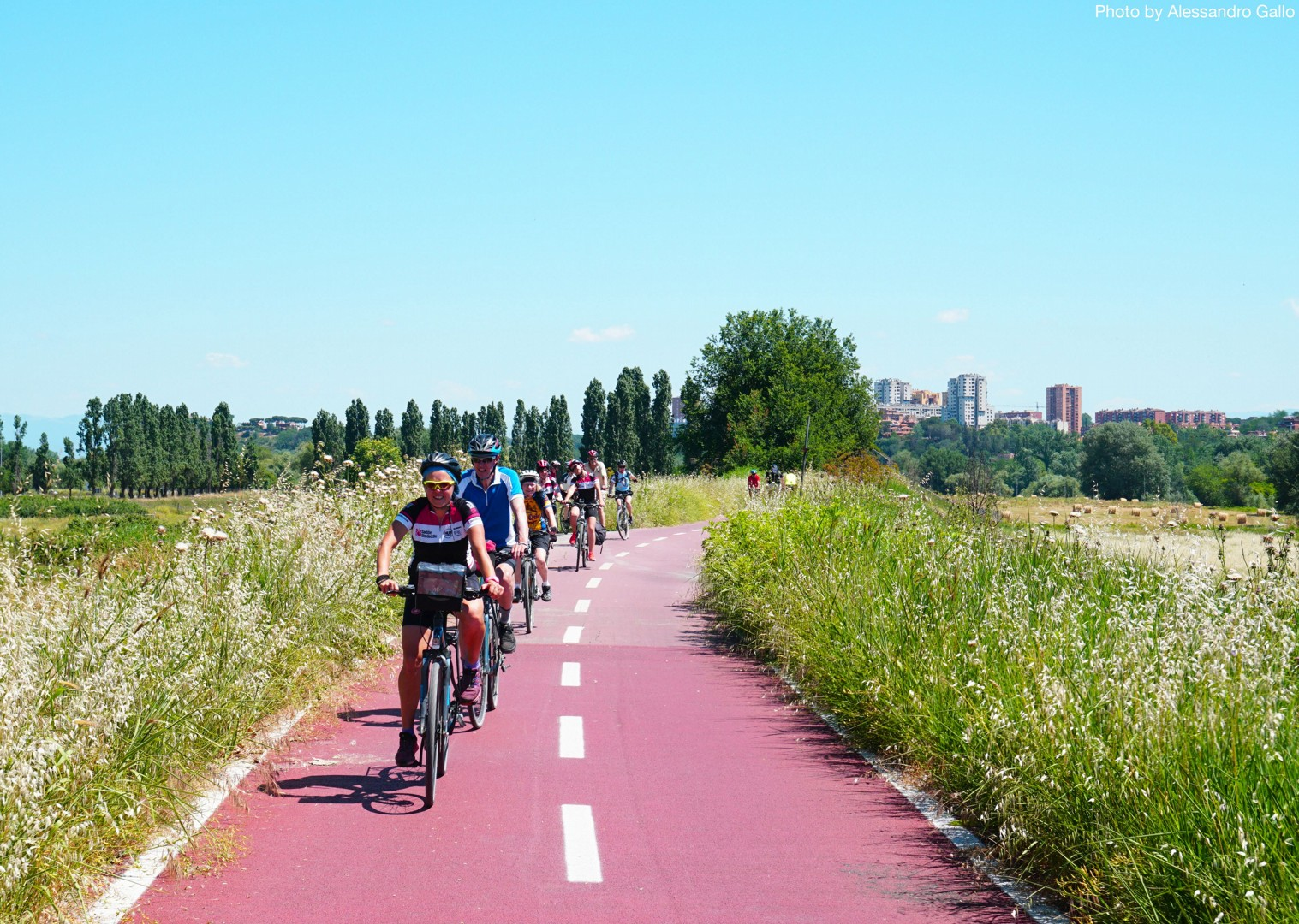 Guided-Leisure-Cycling-Holiday-Italy-Via-Francigena-Tuscany-to-Rome-on-the-way-to-rome - Italy - Via Francigena (Tuscany to Rome) - Guided Leisure Cycling Holiday - Italia Leisure and Family Cycling