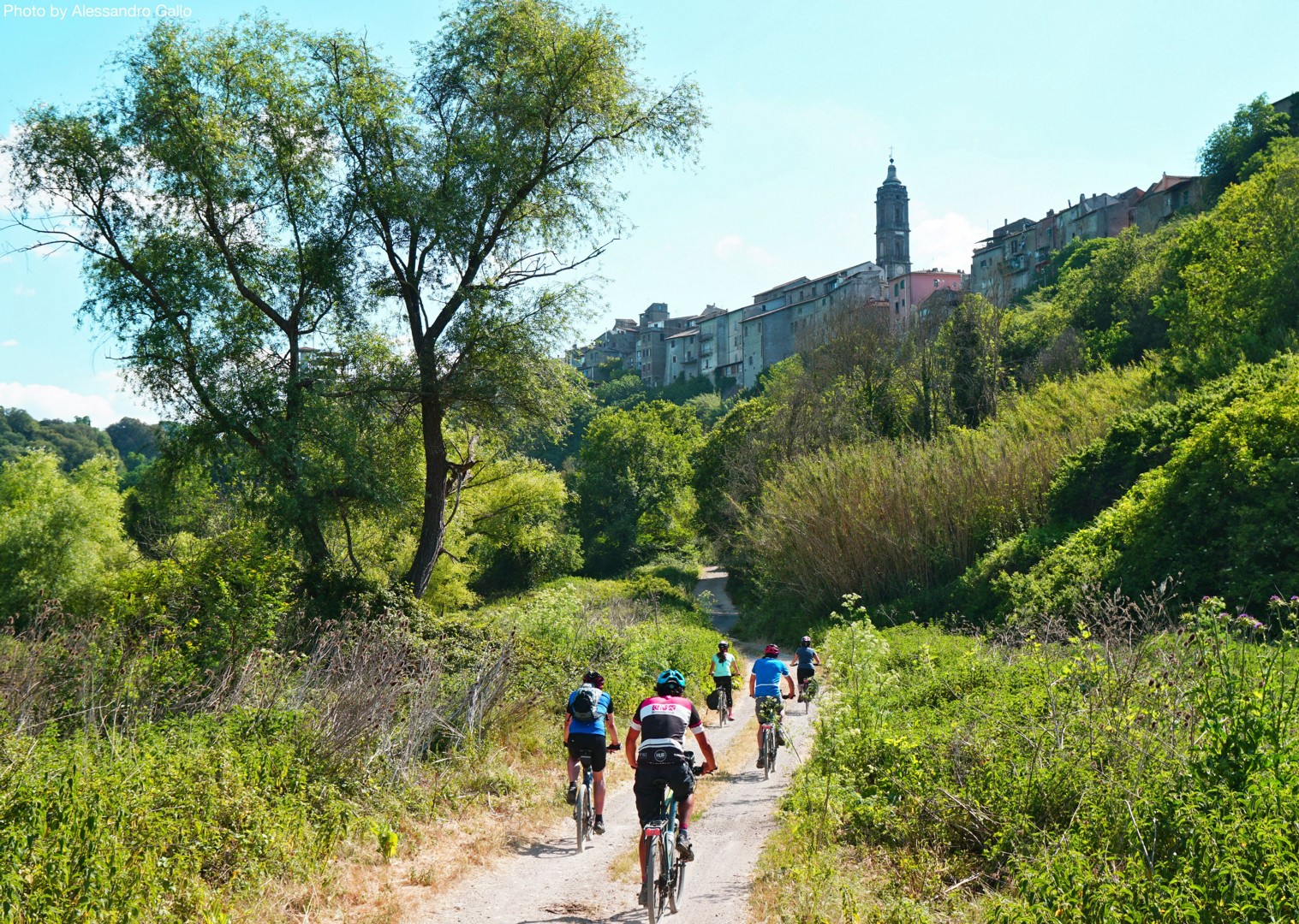 Italy-Via-Francigena-Tuscany-to-Rome-Guided-Leisure-Cycling-Holiday-on-the-way-to-rome - Italy - Via Francigena (Tuscany to Rome) - Guided Leisure Cycling Holiday - Italia Leisure and Family Cycling