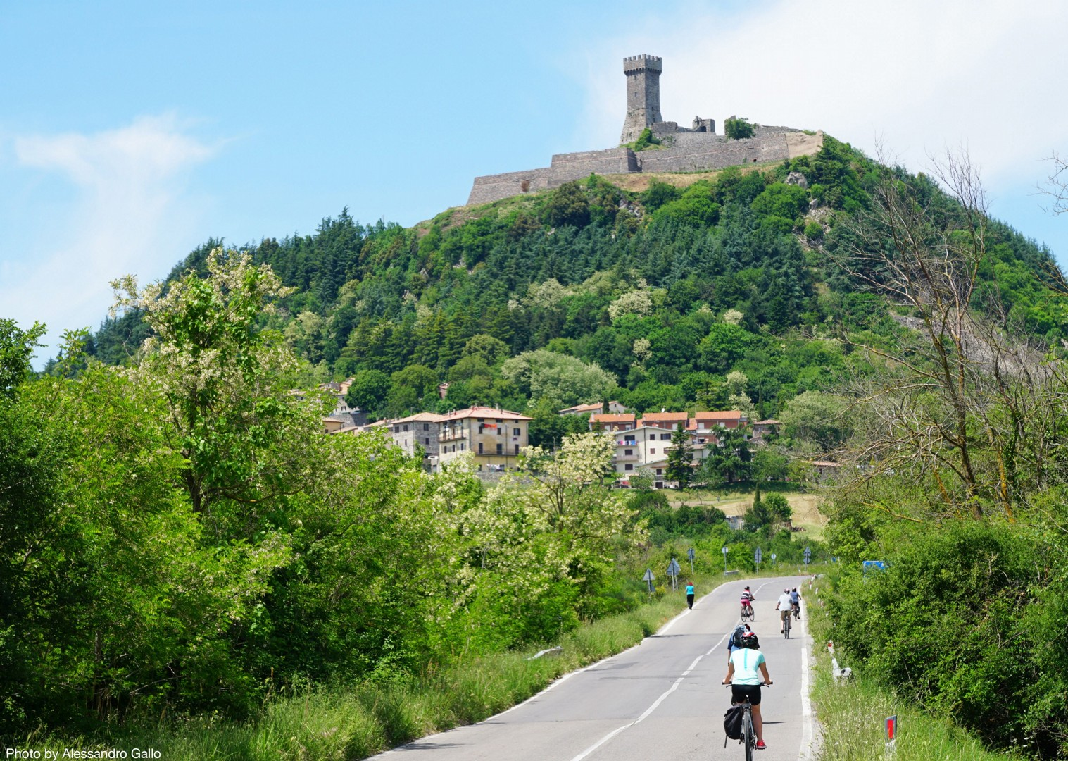Guided-Leisure-Cycling-Holiday-Italy-Via-Francigena-Tuscany-to-Rome - Italy - Via Francigena (Tuscany to Rome) - Guided Leisure Cycling Holiday - Italia Leisure and Family Cycling
