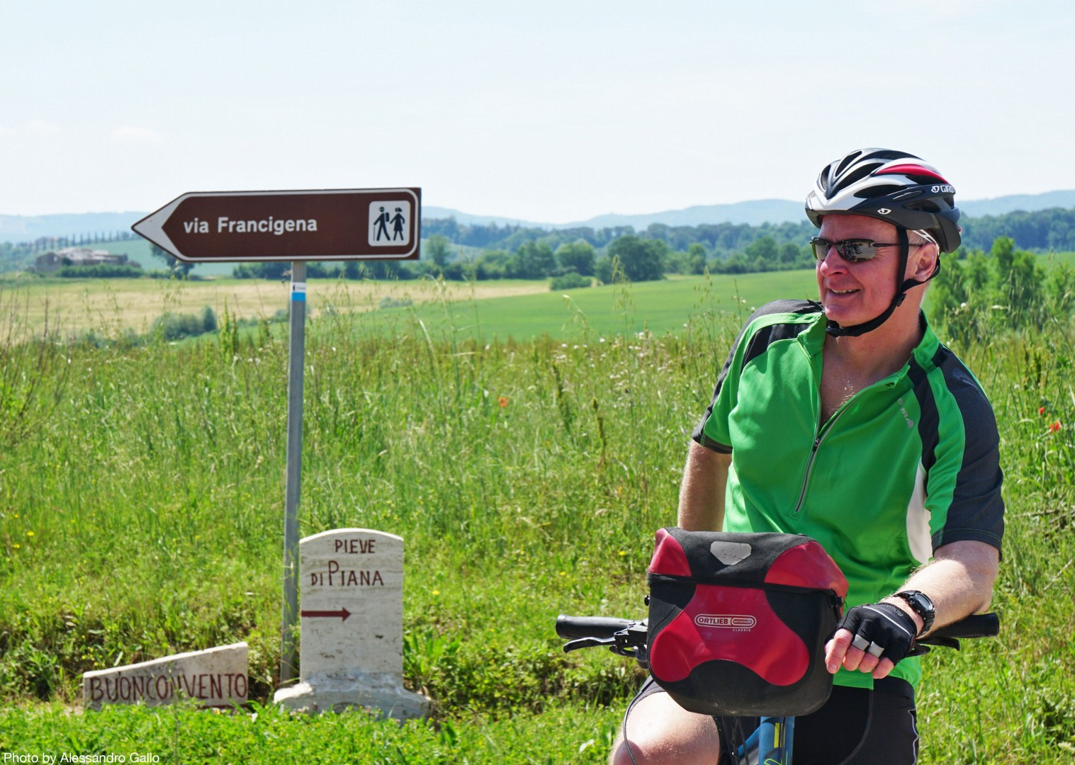 Italy-Via-Francigena-Tuscany-to-Rome-Guided-Leisure-Cycling-Holiday-stop-to-appreciate-the-view - Italy - Via Francigena (Tuscany to Rome) - Guided Leisure Cycling Holiday - Italia Leisure and Family Cycling