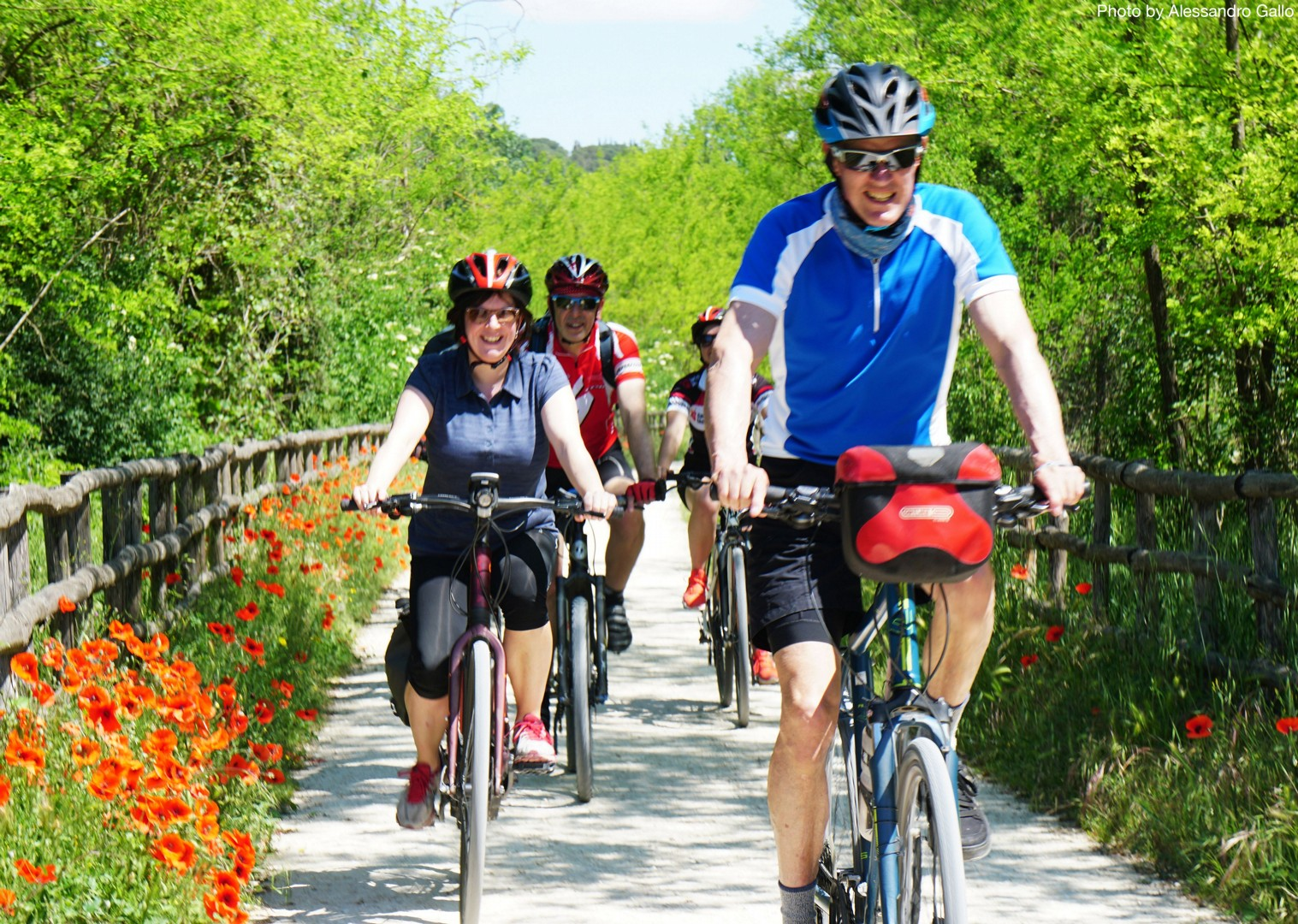 Guided-Leisure-Cycling-Holiday-Italy-Via-Francigena-Tuscany-to-Rome-better-by-bike - Italy - Via Francigena (Tuscany to Rome) - Guided Leisure Cycling Holiday - Italia Leisure and Family Cycling
