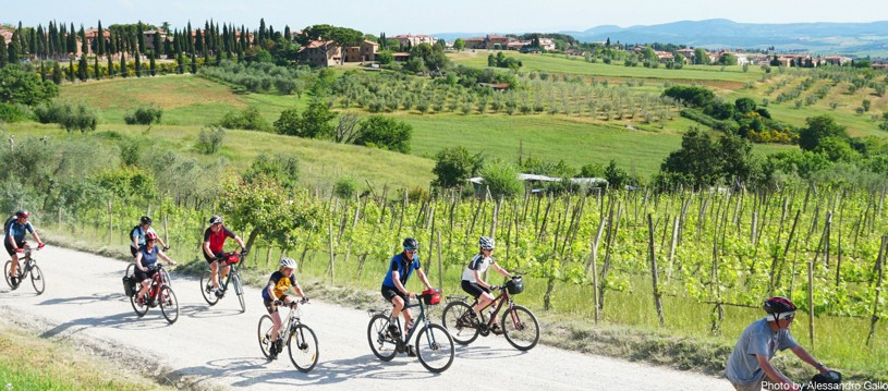 oin us on this guided cycling holiday in Italy where we'll be tracing the steps of the Via Romea Francigena, an ancient route between the northern regions of Europe and the south, carrying merchants, armies and pilgrims from as far as Canterbury to Rome and on to Jerusalem.