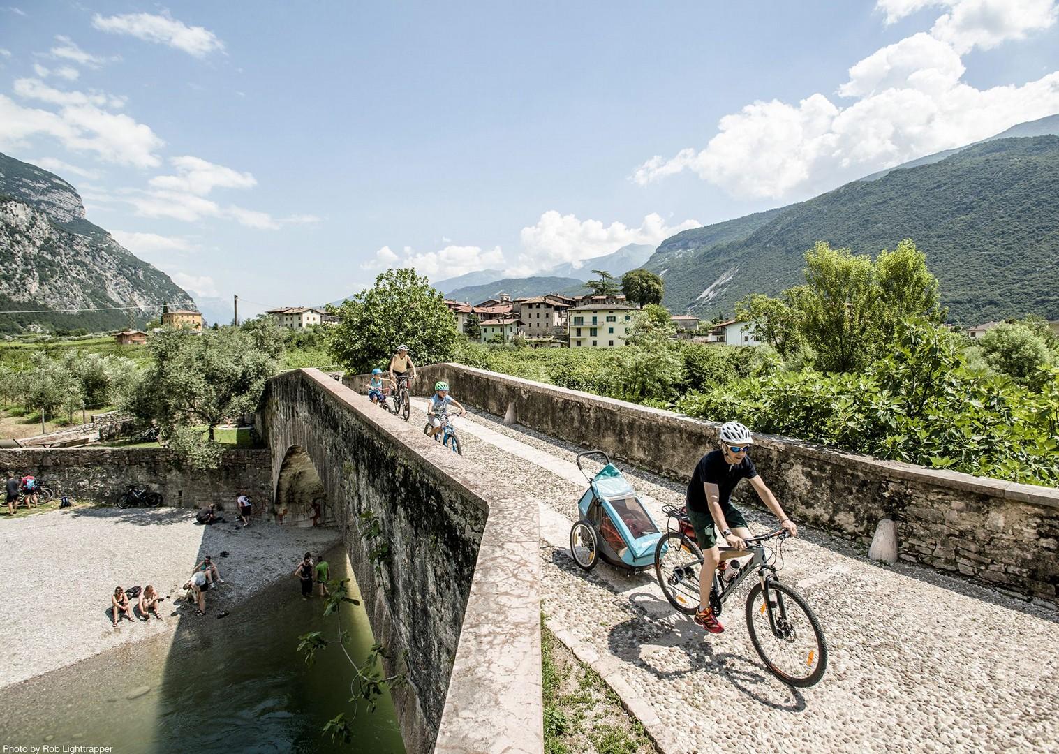 bridge-italy-lake-garda-self-guided-family-holiday.jpg - Italy - Lake Garda Explorer - Self-Guided Family Cycling Holiday - Italia Leisure and Family Cycling