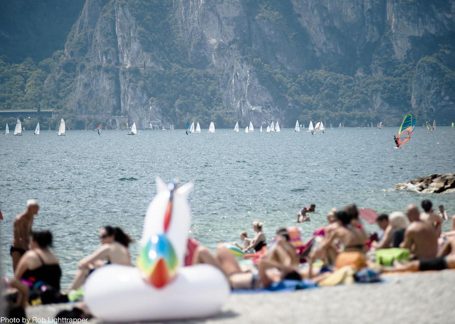beach-lake-garda-italy-family-holiday.jpg - Italy - Lake Garda Explorer - Self-Guided Family Cycling Holiday - Italia Leisure and Family Cycling