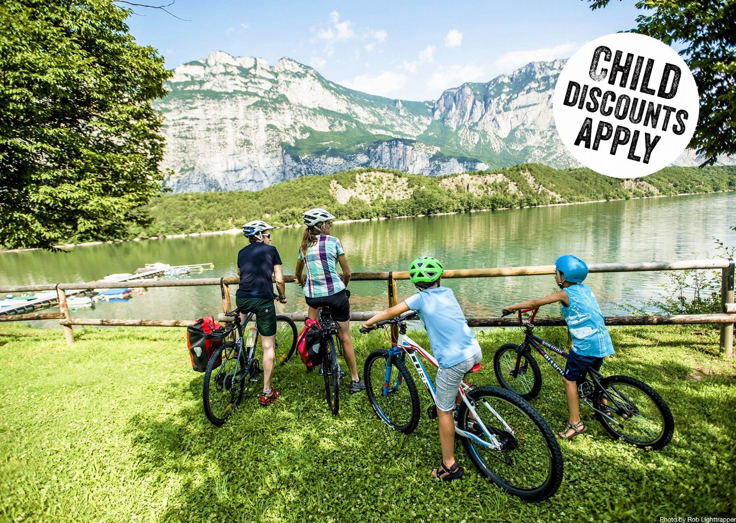 self-guided-family-cycling-holiday-italy-lake-garda.jpg - Italy - Lake Garda Explorer - Self-Guided Family Cycling Holiday - Italia Leisure and Family Cycling
