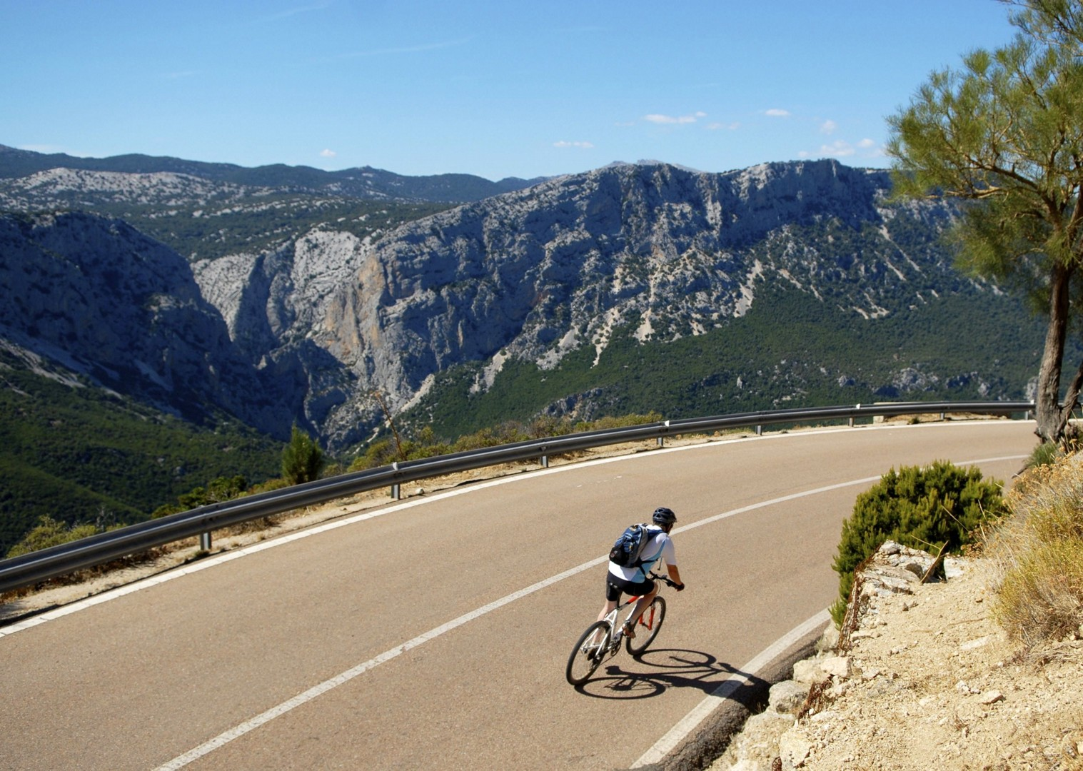 mountains-sardinia-coast-to-coast.jpg - Italy - Sardinia - Coast to Coast - Self-Guided Leisure Cycling Holiday - Italia Leisure and Family Cycling