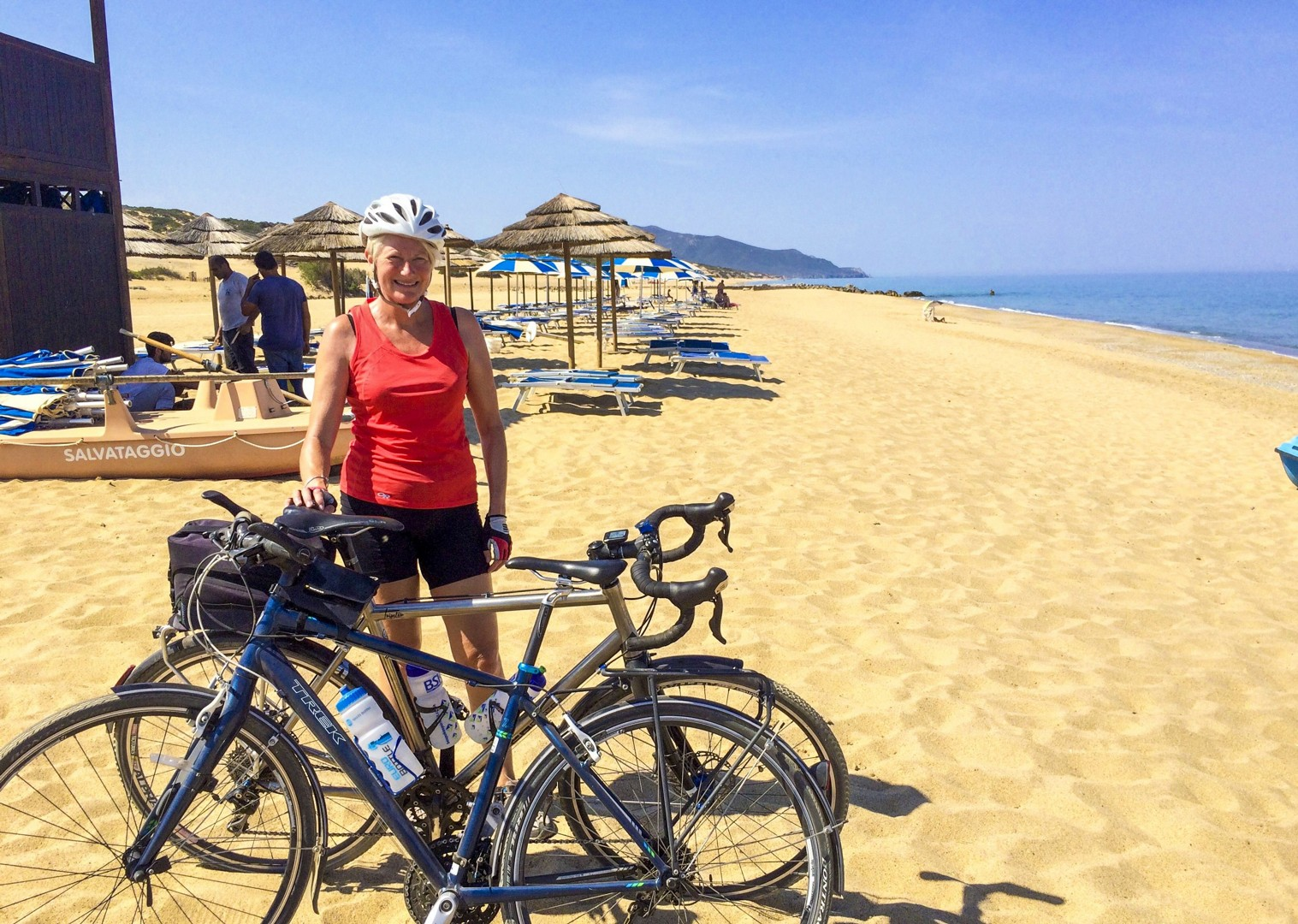 sunny-beaches-sardinia-italy-golden-sands-cycling-holiday.jpg - Italy - Sardinia - Coast to Coast - Self-Guided Leisure Cycling Holiday - Italia Leisure and Family Cycling