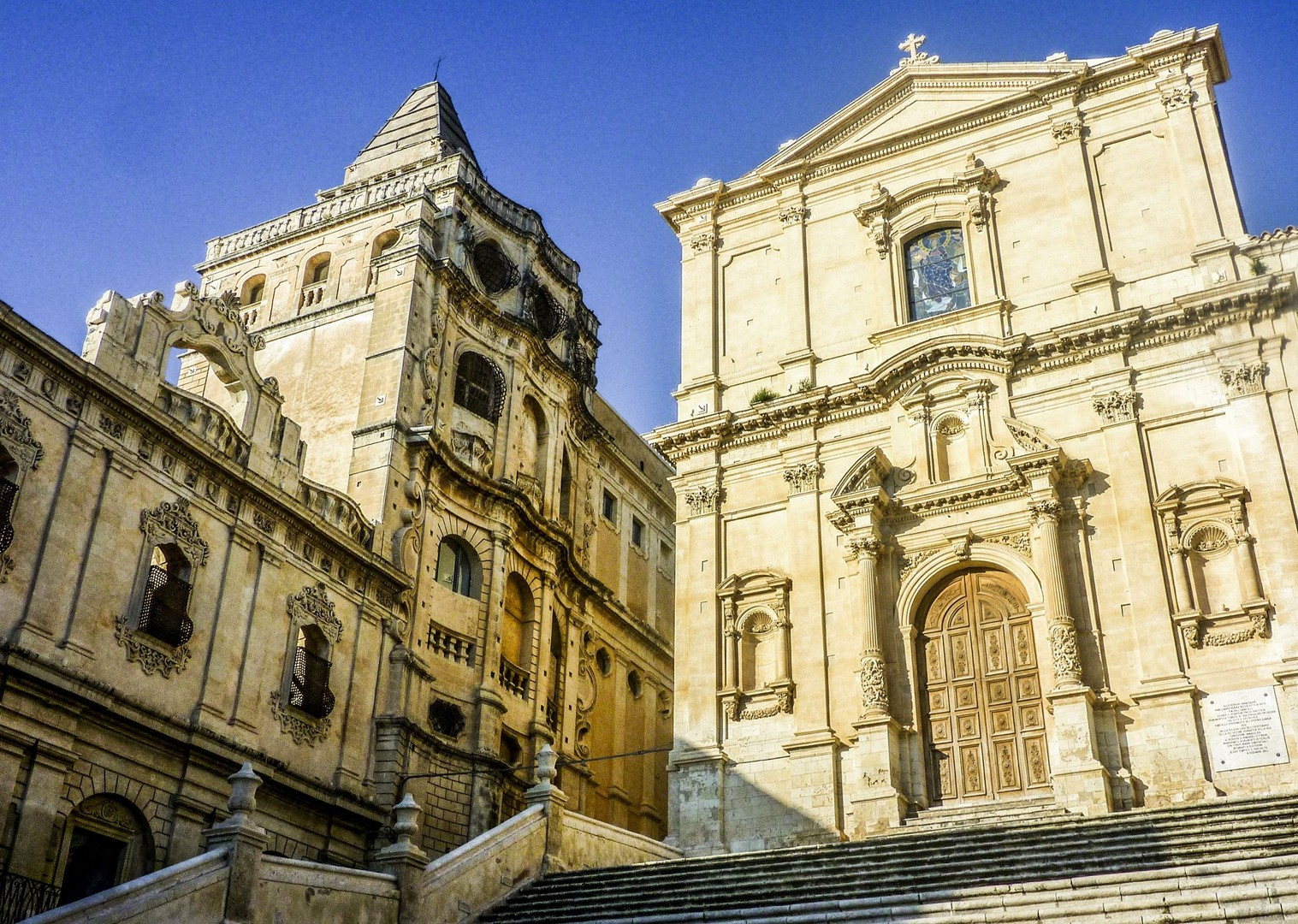 baroque-architecture-sicily-italy-modica-buildings.jpg - Italy - Sicily - Self-Guided Leisure Cycling Holiday - Italia Leisure and Family Cycling
