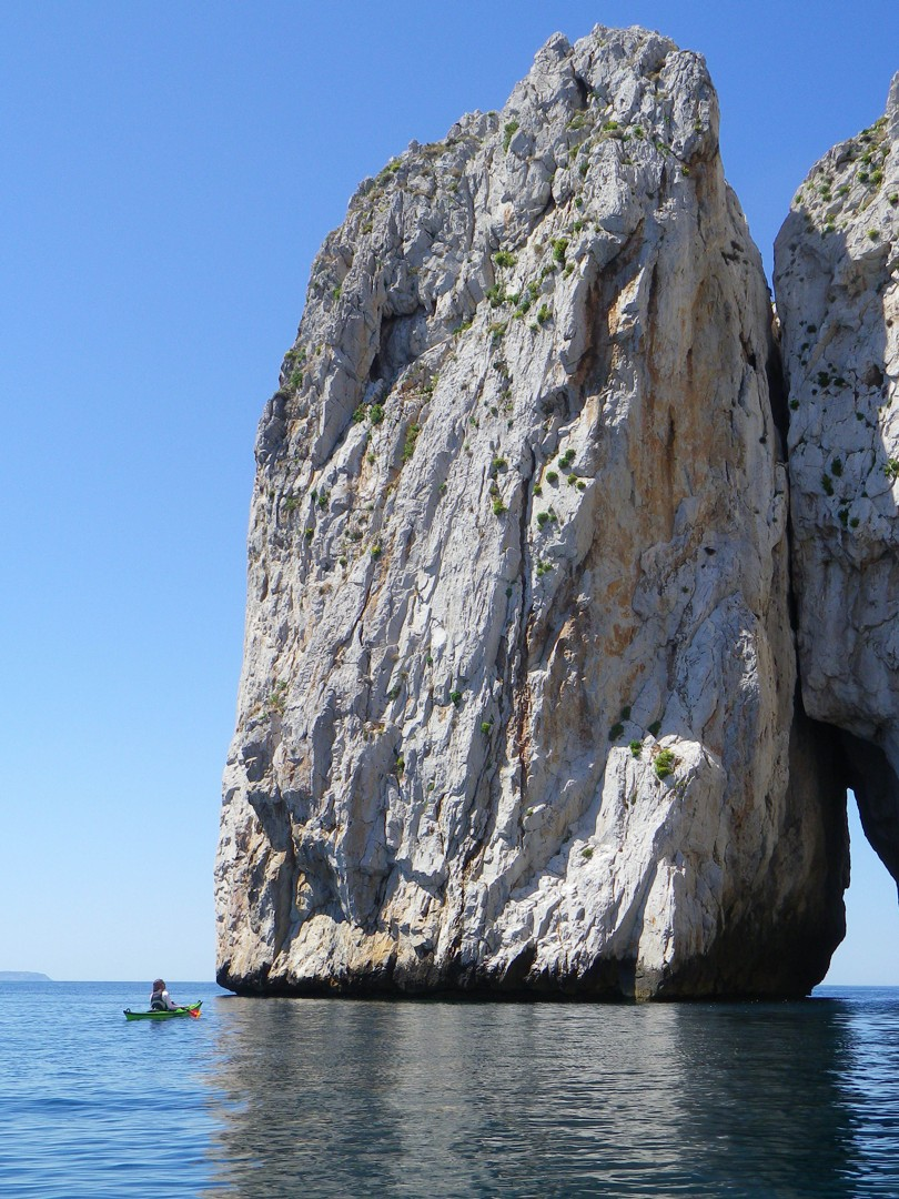 Pan di Zucchero.JPG - Sardinia - Southern Sea Kayaking - Kayaking