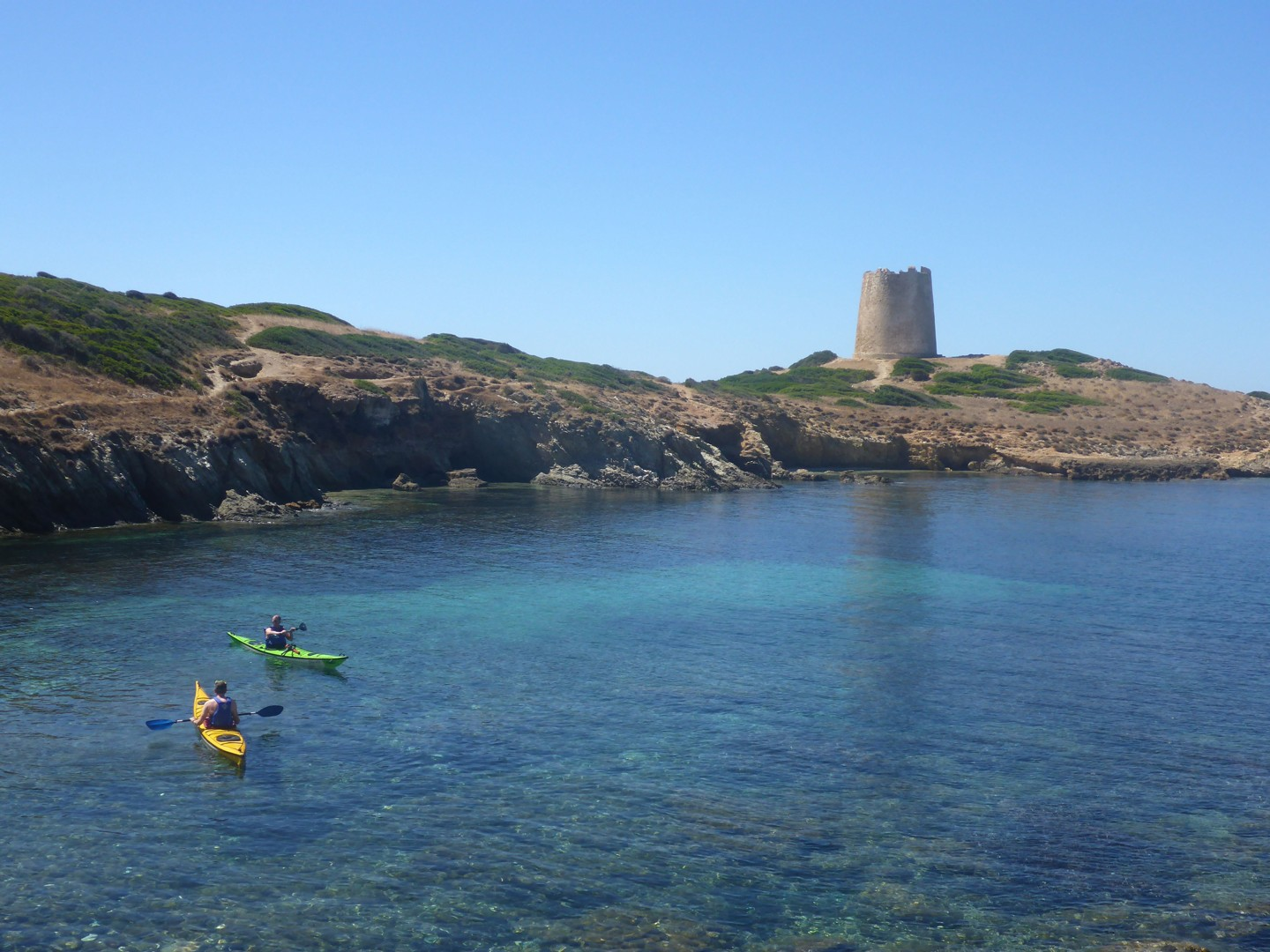 Torre 2.jpg - Sardinia - Southern Sea Kayaking - Kayaking
