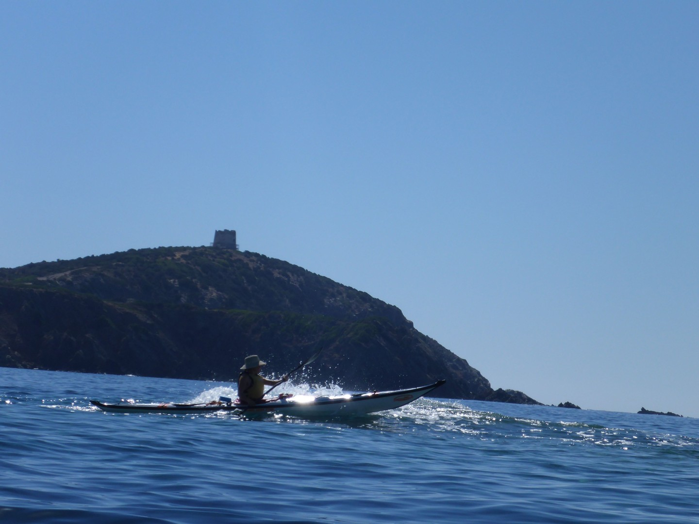 Torre.jpg - Sardinia - Southern Sea Kayaking - Kayaking
