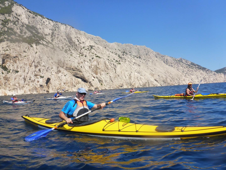 P1030341.jpg - Sardinia - Wilderness Blue Sea Kayaking - Kayaking