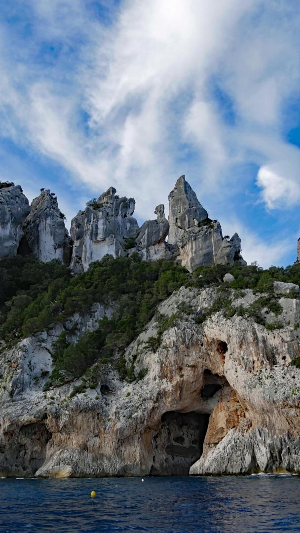 Cala Gonone - morning light on the sea cliffs.jpg - Sardinia - Wilderness Blue Sea Kayaking - Kayaking