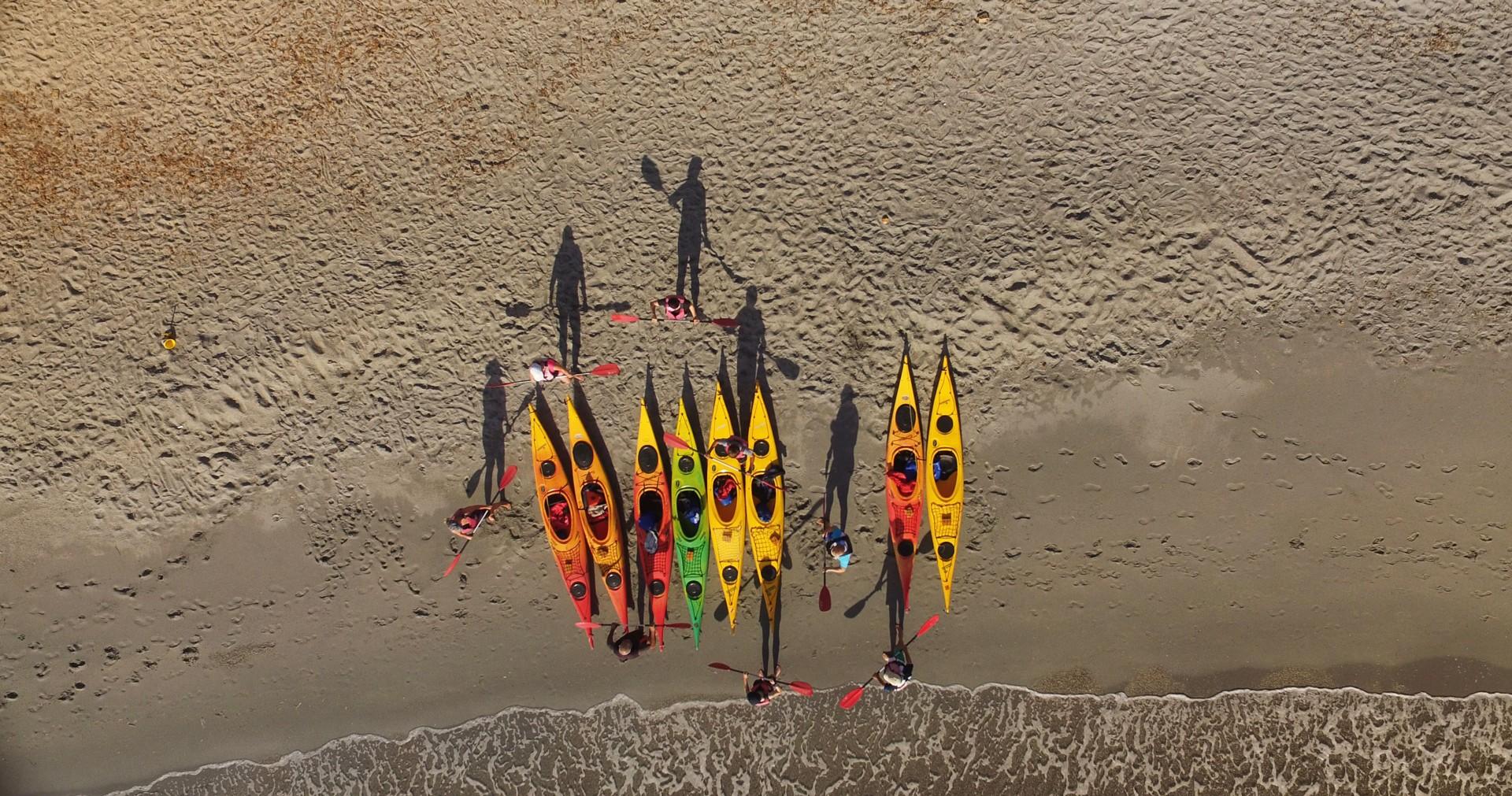 Cala Liberotto - sea kayaking aerial shot3.jpg - Sardinia - Wilderness Blue Sea Kayaking - Kayaking