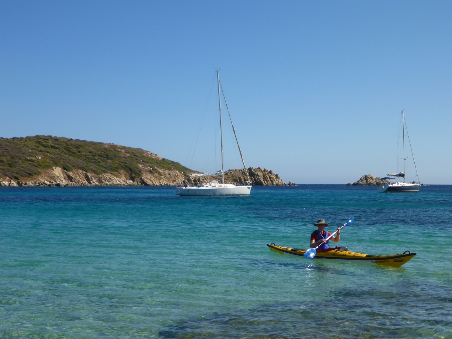 Tuerredda.jpg - Sardinia - Daily Kayaking Trips - Kayaking