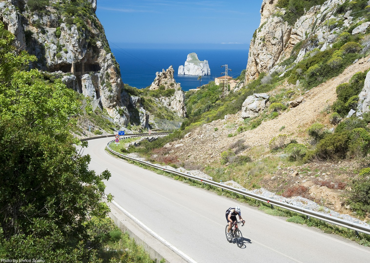 Road-Cycling-Holiday-Italy-Sardinia-Coastal-Explorer-Capo-Caccia.jpg - Italy - Sardinia - Coastal Explorer - Guided Road Cycling Holiday - Italia Road Cycling