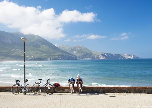 Road-Cycling-Holiday-Coastal-Explorer-Sardinia-Italy-descent-to-Fluminimaggiore-and-Masua.jpg - Italy - Sardinia - Coastal Explorer - Guided Road Cycling Holiday - Italia Road Cycling